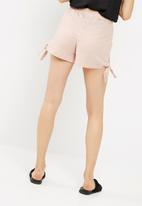 dailyfriday - Soft short with side tie