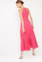 dailyfriday - Sunray pleated maxi dress