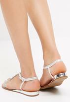 dailyfriday - Silver sandal