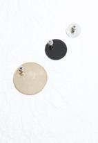 dailyfriday - 3pk polished flat studs