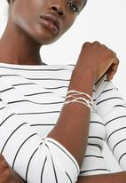 dailyfriday - Silver and nude multi silver pack