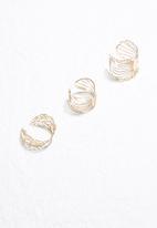 dailyfriday - 3pk Filigree rings