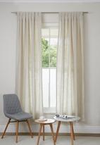 Sixth Floor - Tab top curtain