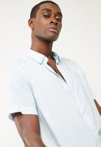 basicthread - Regular fit stripe shirt