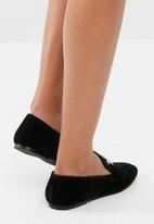 Missguided - Velvet loafer
