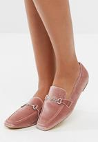 Missguided - Velvet loafer
