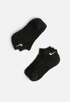 Nike - 3 pack performance cushion low training socks