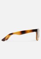 Vans - Squared off sunglasses - brown