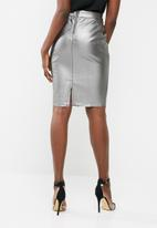 Vero Moda - Ninea metallic pencil skirt