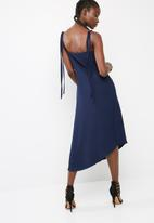 dailyfriday - Asymmetric hem slip dress