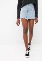 Cotton On - The re-made mini denim skirt