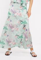 dailyfriday - Floral print maxi skirt