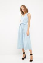dailyfriday - Wrap culotte jumpsuit
