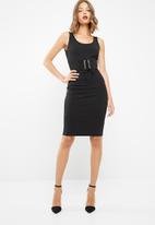 dailyfriday - Midi bodycon with corset detail