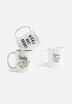 Sixth Floor - Woke but broke mug