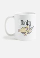 Sixth Floor - Monday vs Friday mug set