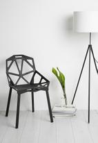 Eleven Past - Geometric chair