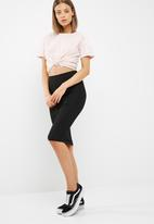 New Look - Bubble texture pencil skirt