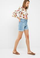 dailyfriday - Ruched front blouse