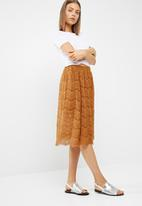 New Look - Lace midi skirt
