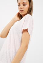 New Look - Mabel cross back tee