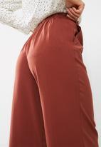 New Look - Topaz self tie wide crop trousers