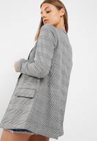 New Look - Check girlfriend blazer