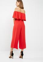 New Look - Bardot frill culotte jumpsuit