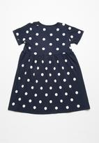 dailyfriday - Polka dot t-shirt dress