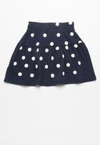 dailyfriday - Tiered knit skirt
