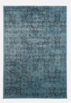 Sixth Floor - Antique rug - blue pattern