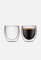 Humble & Mash - Double walled cappucino glasses