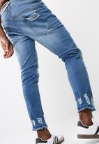 basicthread - Slim cropped jeans