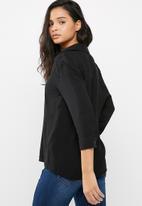 dailyfriday - Soft 3/4 sleeve shirt