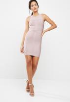 Missguided - Sleeveless bandage bodycon dress