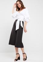 dailyfriday - Poplin wrap blouse