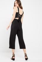 dailyfriday - Eyelet detail jumpsuit