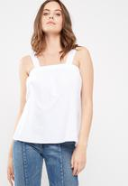 dailyfriday - Poplin cami top