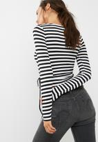 Cotton On - Monique wrap long sleeve top