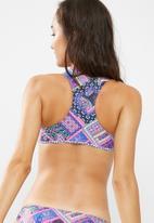 MSH - Tahiti lace up bikini top