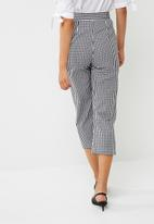 dailyfriday - Wide leg culotte with front tie