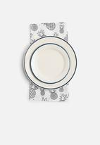 Sixth Floor - Pineapple napkin set of 2
