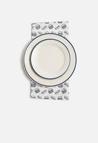 Sixth Floor - Hot dog napkin set of 2