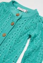 dailyfriday - Pointelle summer cardigan