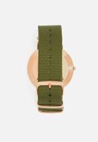 basicthread - Chris nylon strap watch