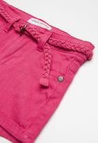 MINOTI - Twill shorts - pink