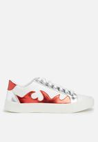 Missguided - Flame print sneaker