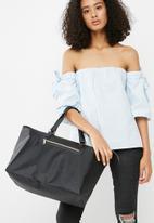 dailyfriday - 2 pack nylon and PU shopper