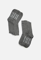 basicthread - Plain socks - 5 pack