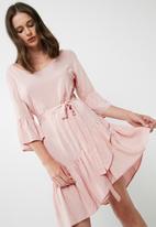 dailyfriday - Short ruffle dress